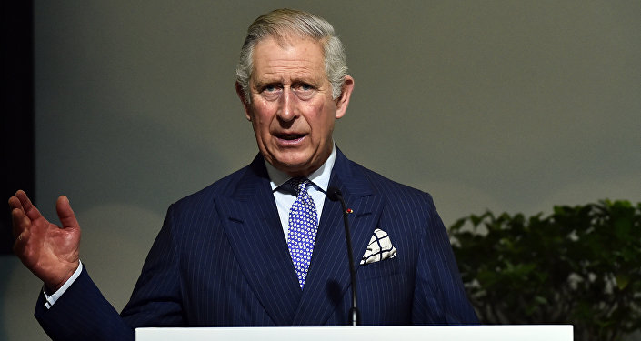 Britain's Prince Charles, The Prince of Wales delivers a speech on Forests as part of the United Nations conference on climate change COP21, on December 1, 2015 at Le Bourget, on the outskirts of the French capital Paris
