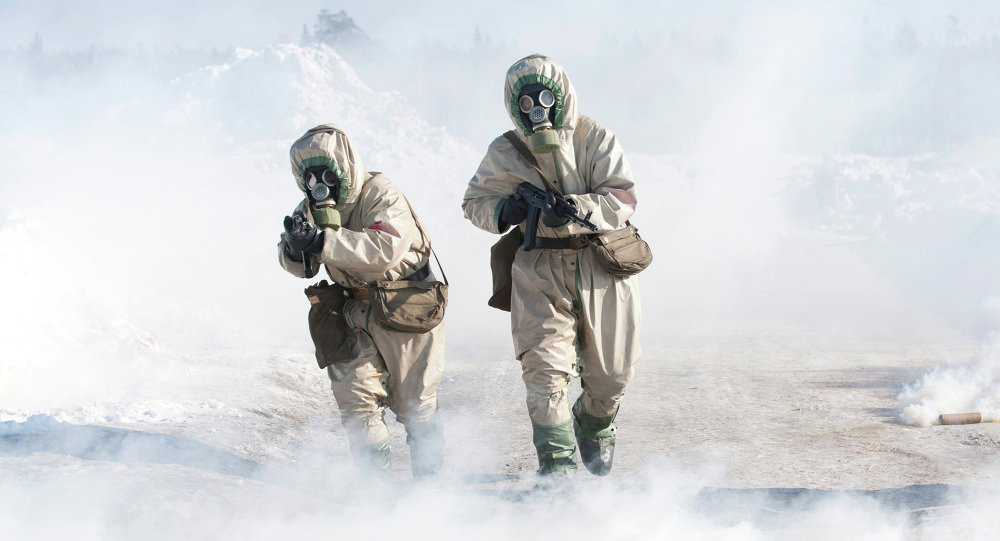 Drills for Radiological, Biological and Chemical Defence Troops