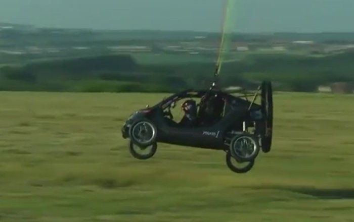 Flying car pilot takes off for cross-Channel attempt