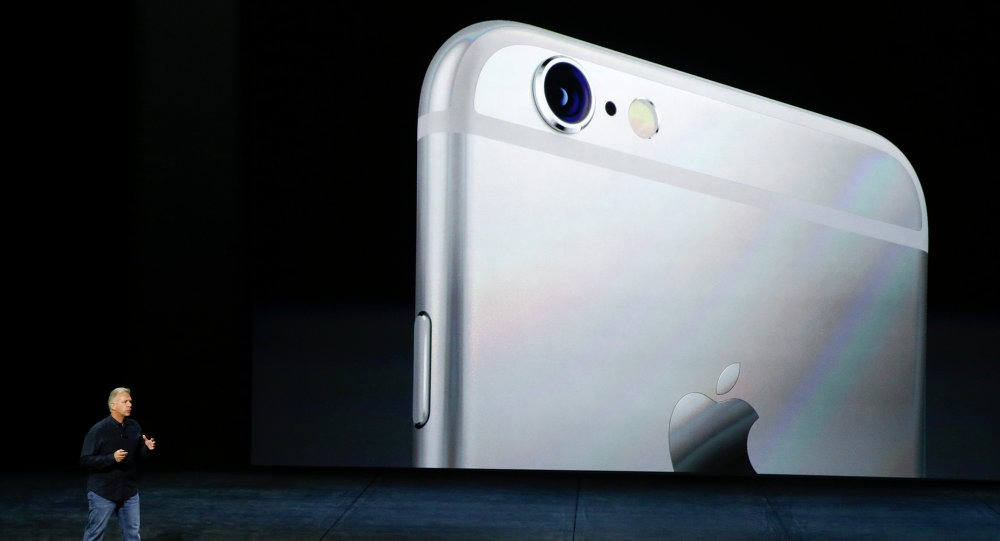 Phil Schiller, of Apple, talks about the the new iPhone 6s and iPhone 6s Plus during the Apple event in San Francisco.